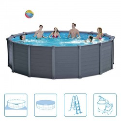Intex Graphite Panel Pool Ø 478 cm