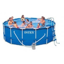 Intex Metal Frame Pool rond 457 x 84 cm zwembad