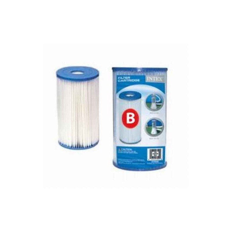 b type intex zwembad filter pomp cardridge type b kristal