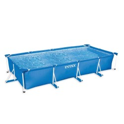 Intex Metal Frame Pool 300 x 200 x 76 cm rectangle