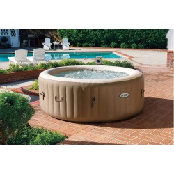 Whirlpool 6 pers Intex Pure Spa Bubble Therapy