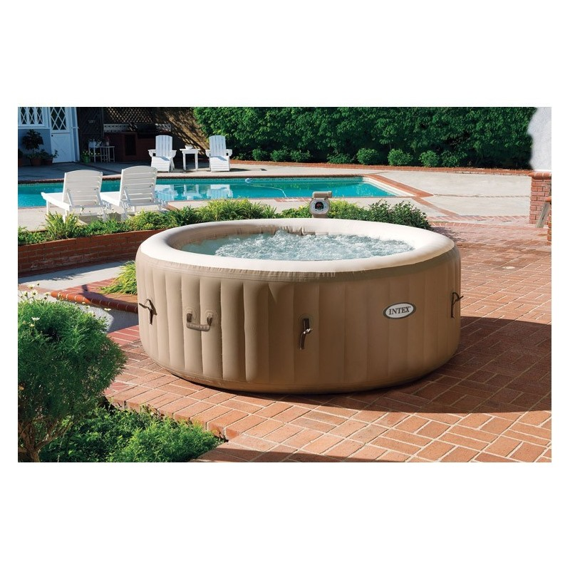 Awesome Whirlpool Pers Intex Pure Spa Bubble Therapy With Intex Whirlpool