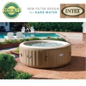 Whirlpool 4 pers Intex Pure Spa Bubble Therapy met hardwatersysteem