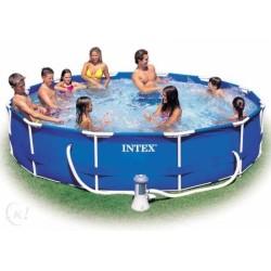 Intex Metal Frame Pool rond 305 x 76 cm zwembad